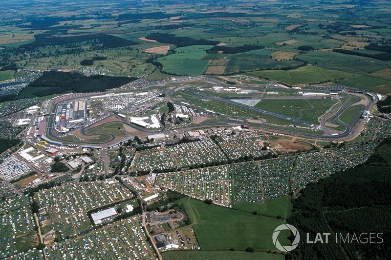 Panoramica di Silverstone