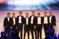 2018 pilotları,  Alexander Sims, Philipp Eng, Nick Catsburg, António Félix da Costa, Martin Tomczyk, Augusto Farfus, Tom Blomqvist ve Jens Marquardt BMW Motorsporları Direktörü