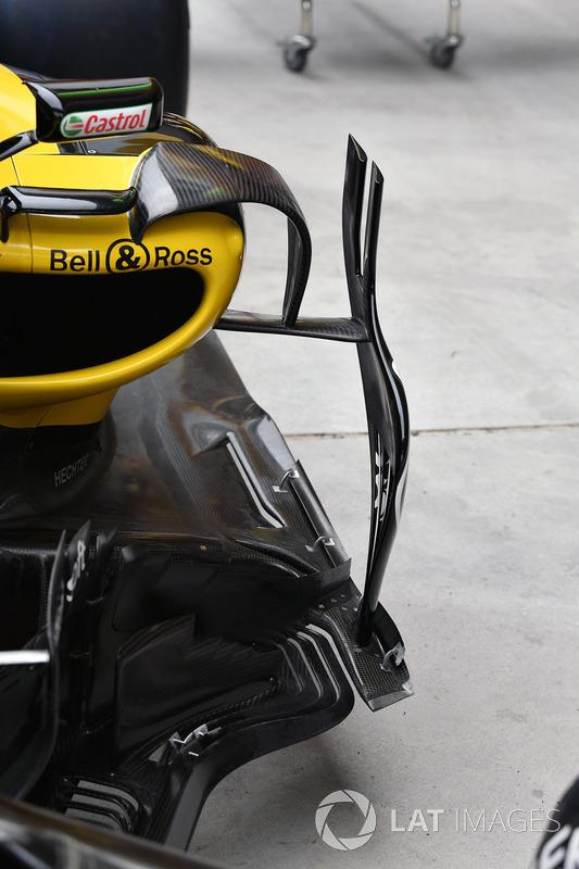 Renault Sport F1 Team R.S. 18 barge board detail