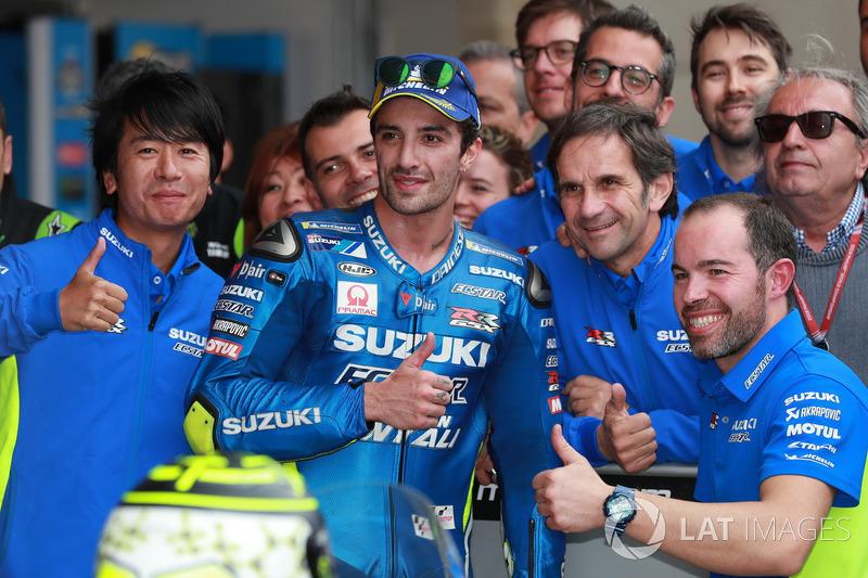 6. Андреа Янноне, Team Suzuki MotoGP - 31 очко