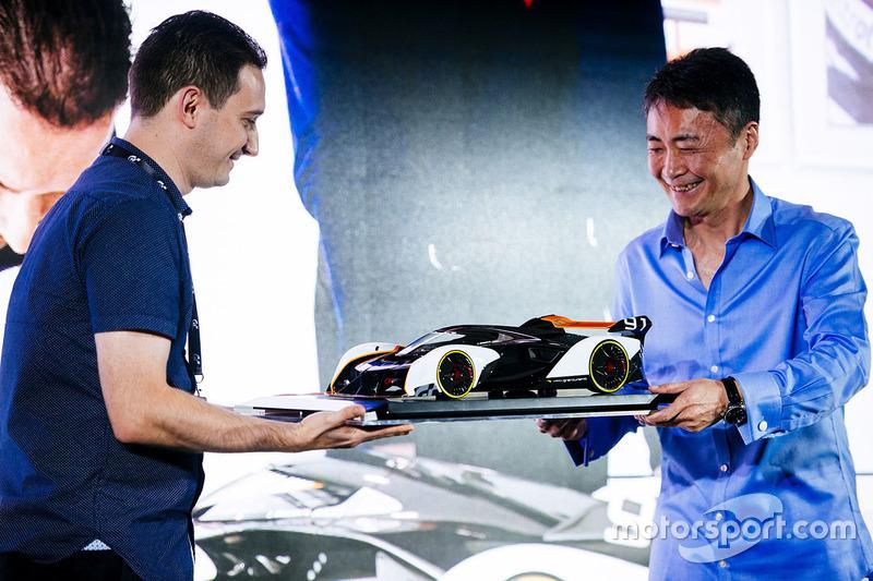 Amalgam McLaren Ultimate Vision Gran Turismo