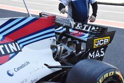Williams FW40 parte trasera