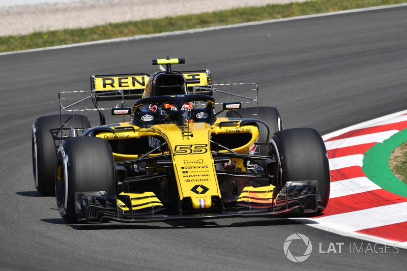 17. Carlos Sainz Jr., Renault Sport F1 Team R.S. 18
