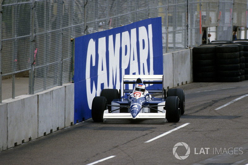 Жан Алезі, Tyrrell 018 Ford