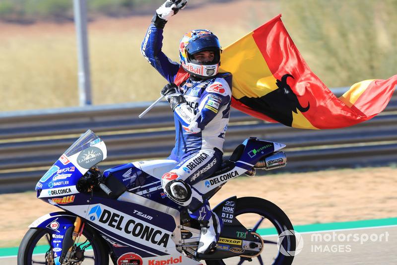 Moto3 Aragon: Kualifikasi 1, finis 1