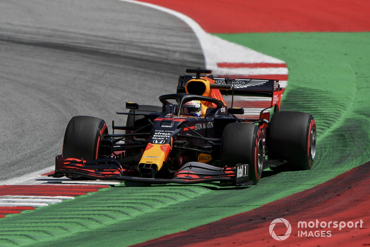 P1 Max Verstappen, Red Bull Racing RB16