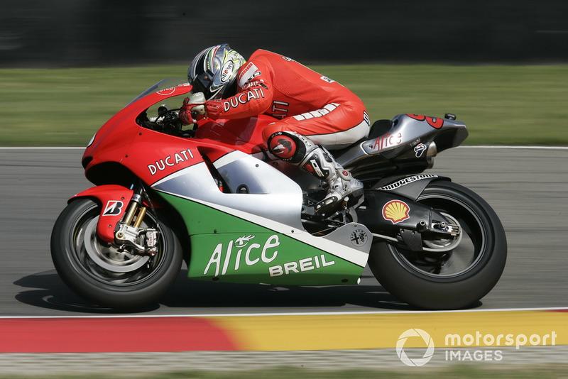Loris Capirossi (Ducati) - GP d'Italie 2006