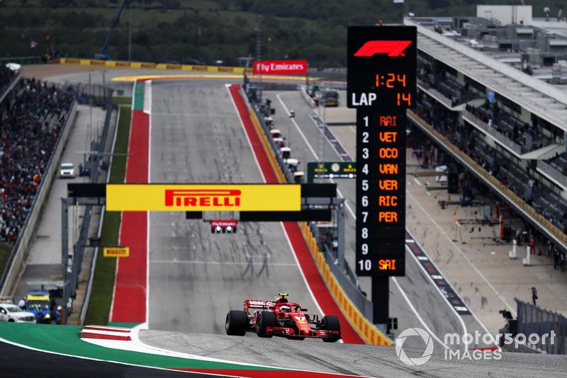 2. Kimi Räikkönen, Ferrari SF71H