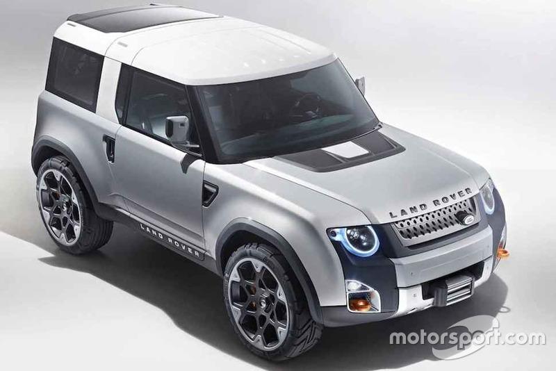 Концепт Land Rover Defender 2019
