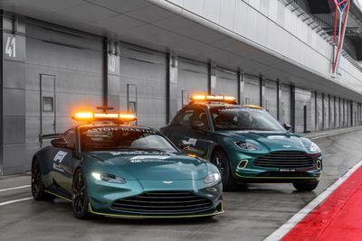 Safety Car e Medical Car da Aston Martin