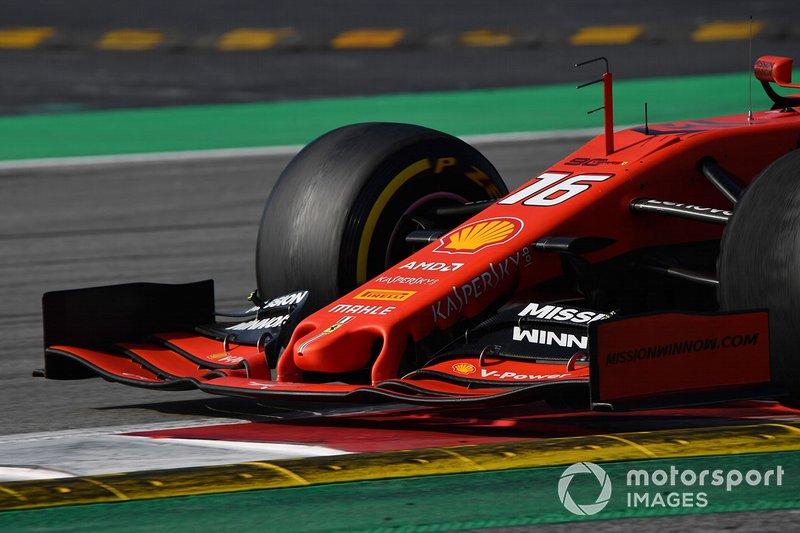 Morro y alerón del Ferrari SF90