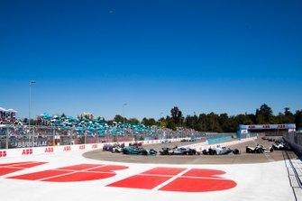 Felipe Massa, Venturi Formula E, Venturi VFE05 Oliver Rowland, Nissan e.Dams, Nissan IMO1,Mitch Evans, Jaguar Racing, Jaguar I-Type 3, Jose Maria Lopez, GEOX Dragon Racing, Penske EV-3