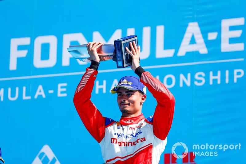 Pascal Wehrlein, Mahindra Racing, segundo clasificado