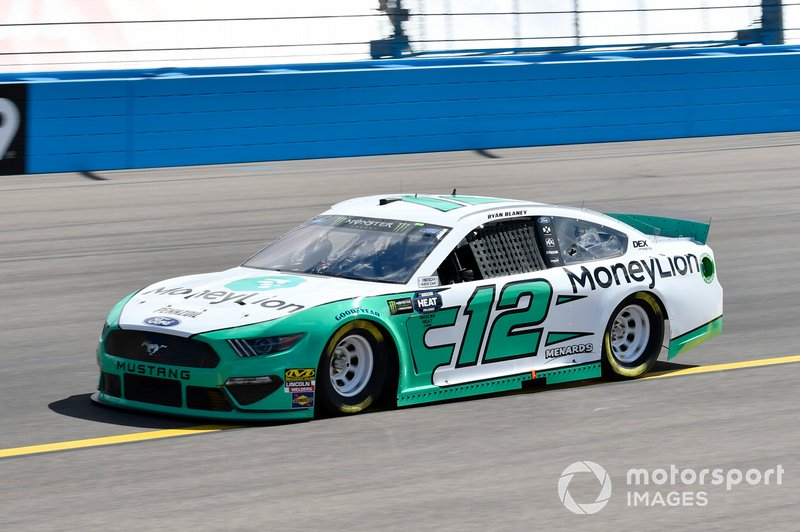 3. Ryan Blaney, Team Penske, Ford Mustang