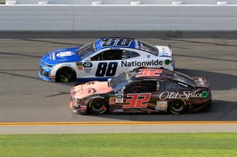 Alex Bowman, Hendrick Motorsports, Chevrolet Camaro Nationwide, Corey LaJoie, Go FAS Racing, Ford Mustang Old Spice