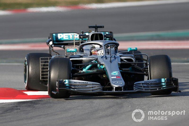 2º Lewis Hamilton, Mercedes-AMG F1 W10, 1:16.224 (neumáticos C5, día 8)