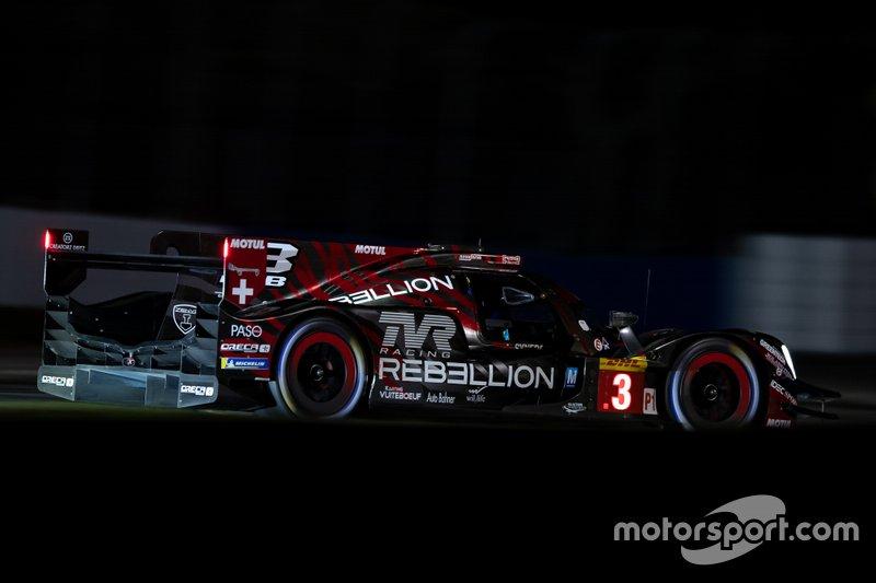 #3 Rebellion Racing Rebellion R-13: Nathanae?l Berthon, Gustavo Menezes, Thomas Laurent