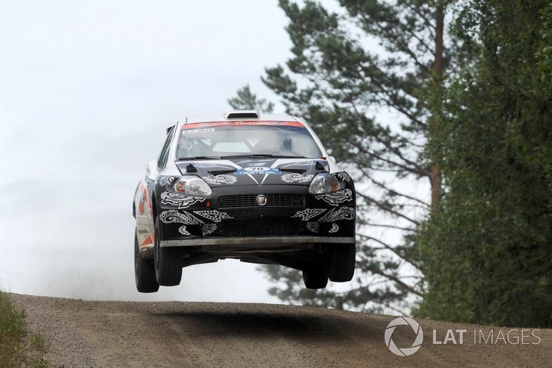 Первый старт в WRC