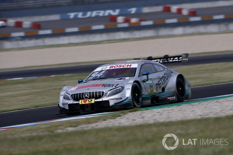 3. Pascal Wehrlein, Mercedes-AMG Team HWA, Mercedes-AMG C63 DTM