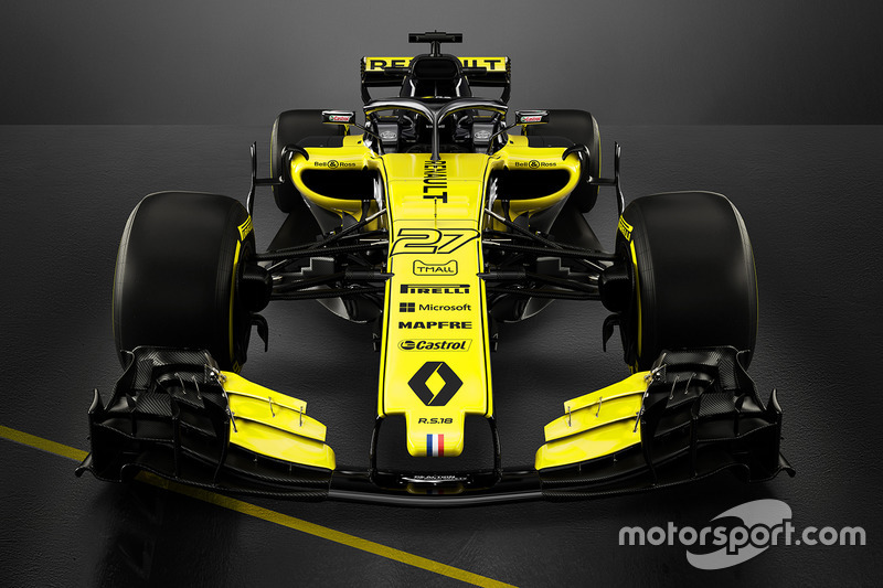 2018: Renault F1 Team RS18