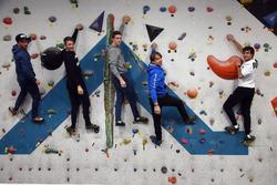 Augusto Farfus, Bruno Spengler Philipp Eng ve Marco Wittmann duvar tırmanışı
