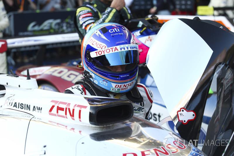 Ganador, Fernando Alonso, Toyota Gazoo Racing
