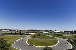 Fernando Alonso, McLaren MCL32, Sergio Perez, Sahara Force India F1 VJM10, Daniel Ricciardo, Red Bul