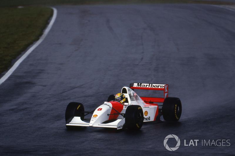 Айртон Сенна, McLaren MP4/8
