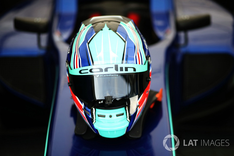 Casco de Billy Monger, Carlin