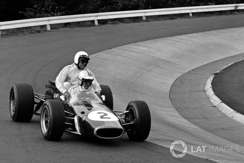 Nürburgring 1967 : Denny Hulme (Brabham) - Jack Brabham (Brabham)