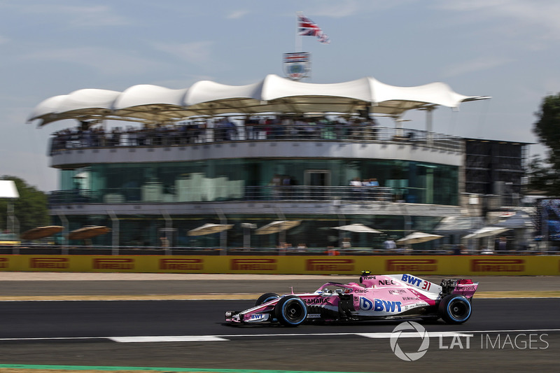 10. Esteban Ocon, Force India VJM11