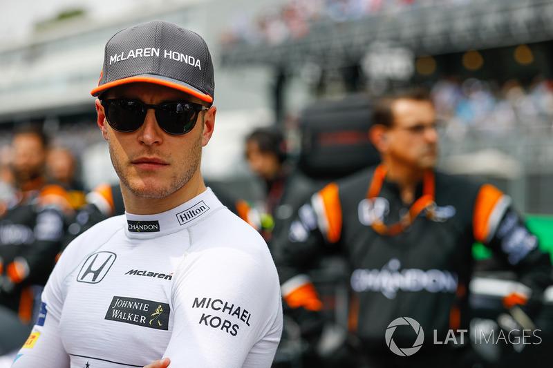 McLaren, Stoffel Vandoorne: 25 yaşında