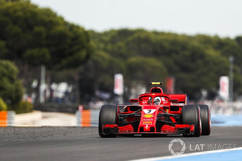 8 місце — Кімі Райкконен, Ferrari