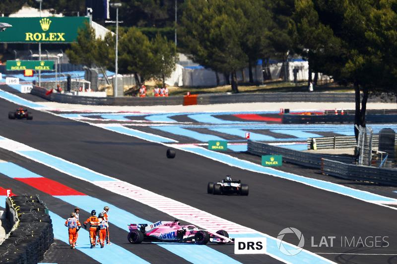 GP Perancis - Sergio Pérez (FP2)