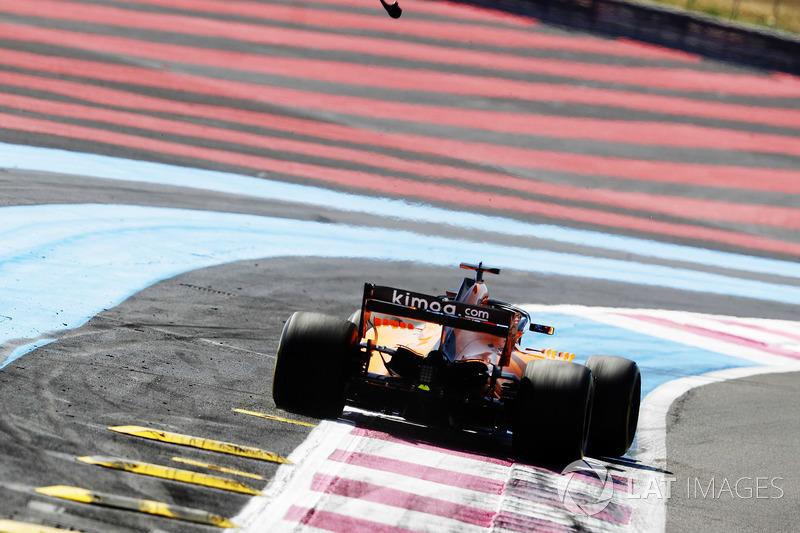 Fernando Alonso, McLaren MCL33, va largo