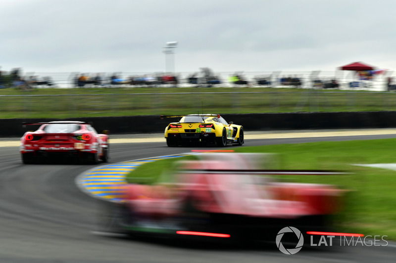 #63 Corvette Racing Chevrolet Corvette C7.R: Ян Магнуссен, Майк Роккенфеллер, Антонио Гарсия