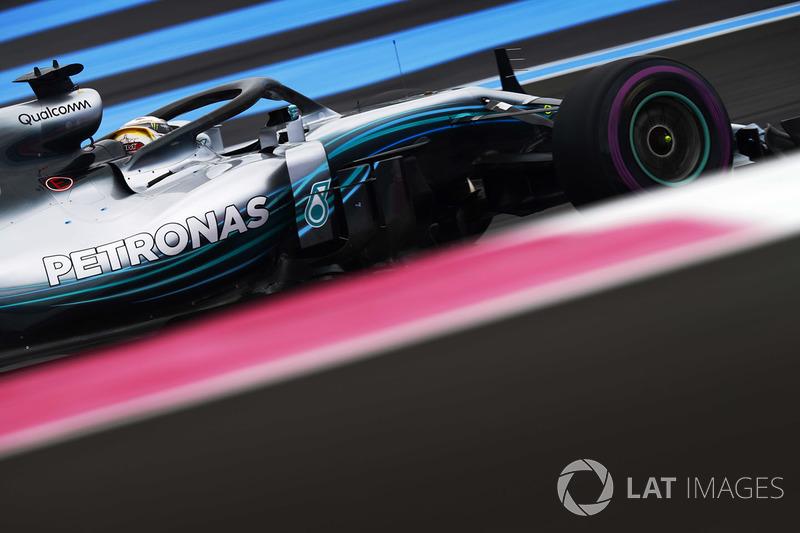1: Lewis Hamilton, Mercedes AMG F1 W09, 1'30.029