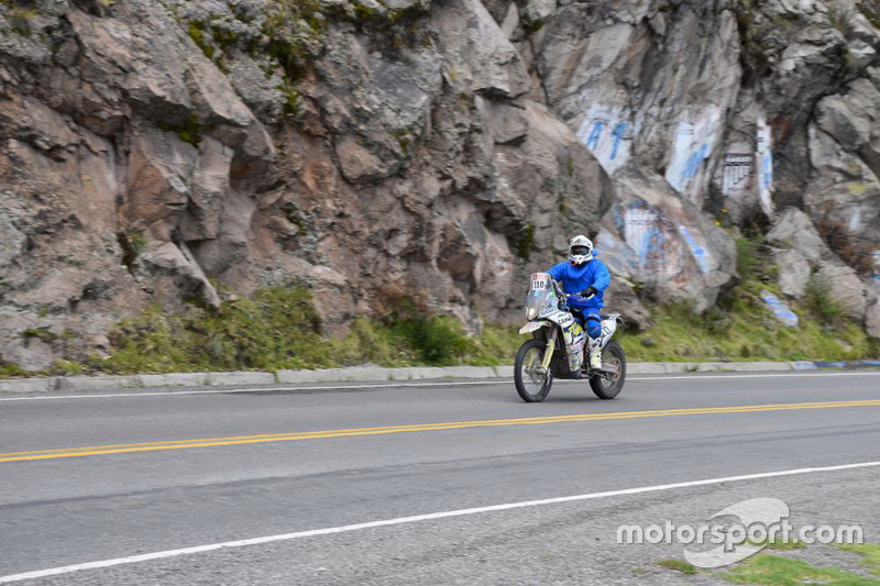 Гонщик по дорозі в Ла-Пас