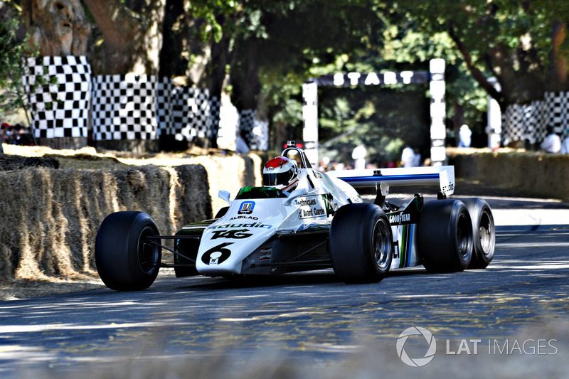 El Williams de seis ruedas