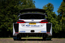 M-Sport Ford Fiesta WRC rear detail