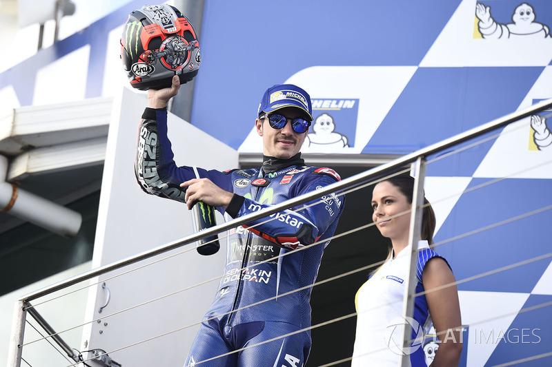 Подіум: третє місце Маверік Віньялес, Yamaha Factory Racing