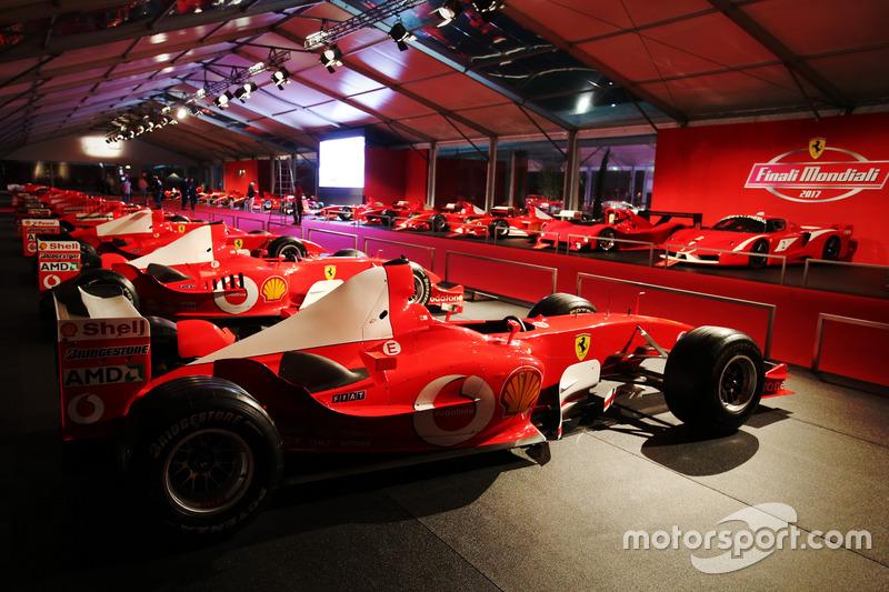 Une exposition de Ferrari F1