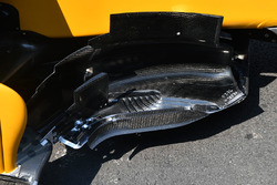 Renault Sport F1 Team RS17 barge board detail