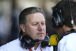Zak Brown,Director ejecutivo McLaren Technology Group