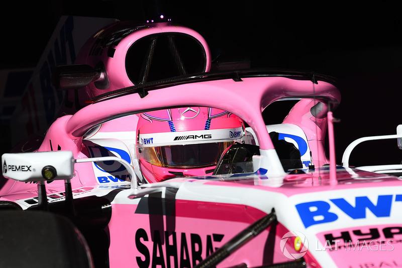 Эстебан Окон, Force India VJM11