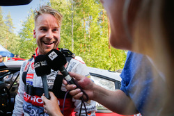 Second place Mads Ostberg, Citroën World Rally Team