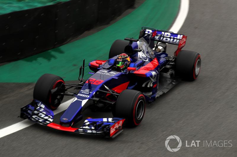 Brendon Hartley, Scuderia Toro Rosso STR12 (P)