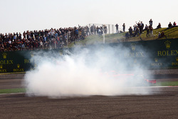 Столкновение: Себастьян Феттель, Ferrari SF71H, и Макс Ферстаппен, Red Bull Racing RB14