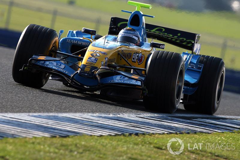 2006 - Troisième pilote Renault F1