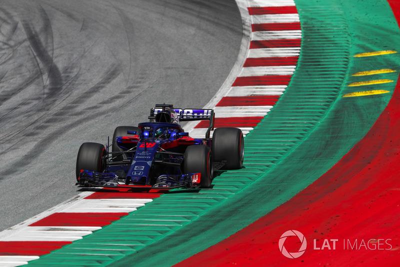 DNF: Brendon Hartley, Toro Rosso STR13